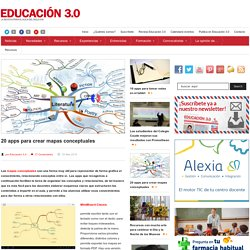 20 apps para crear mapas conceptuales