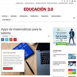 Apps de matemáticas para la tableta