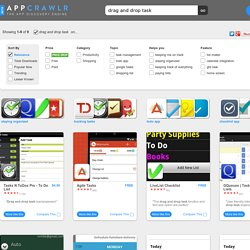 Top 5 Apps for Drag And Drop Task (android)
