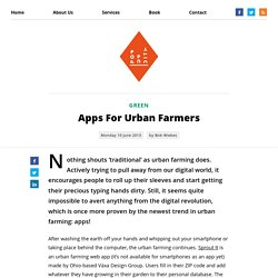 Apps For Urban Farmers