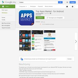 Top Apps Market - for Android - Android-apps op Google Play