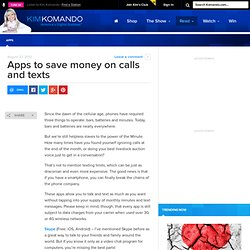 Apps to save money on calls and texts