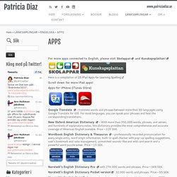 APPS – Patricia Diaz