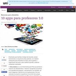 10 apps para profesores 3.0