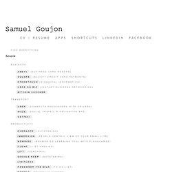 Samuel Goujon