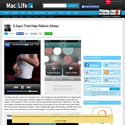 8 Apps That Help Relieve Stress