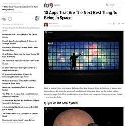 10 Apps That Are The Next Best Thing To Being In Space