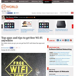 Top apps and tips to get free Wi-Fi anywhere