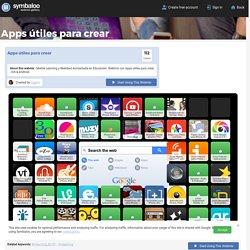 Apps útiles para crear