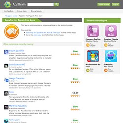 Appsfire: Hot Apps & Free Apps - applications pour Android d'AppBrain
