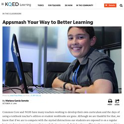 Appsmash Your Way to Better Learning