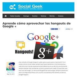 Aprende cómo aprovechar los hangouts de Google +