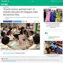 """""""Enseña menos, aprende más"""": el método educativo de Singapur, líder del informe PISA"""
