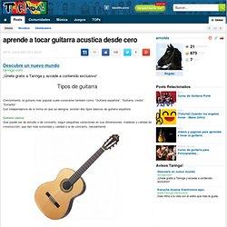 aprende a tocar guitarra acustica desde cero