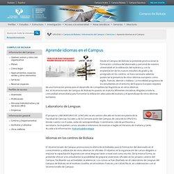 Aprende idiomas en el Campus - Campus de Bizkaia - UPV/EHU