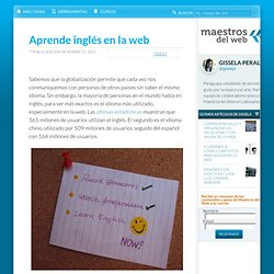 Aprende inglés en la web