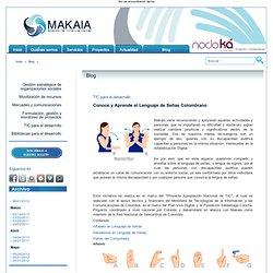 Conoce y Aprende el Lenguaje de Señas Colombiano - Blog - MAKAIA.org
