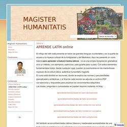 APRENDE LATÍN online - magisterhumanitatis