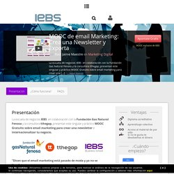 Aprende a crear tu primera newsletter con email marketing