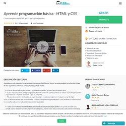 Aprende programación básica - HTML y CSS - Tutellus.com