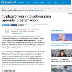 10 plataformas innovadoras para aprender programación