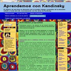 Aprendemos con Kandinsky: Actividades propuestas