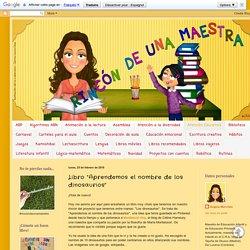 """Rincón de una maestra: Libro """"Aprendemos el nombre de los dinosaurios"""""""