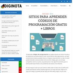 Sitios para aprender códigos de programación gratis + libros
