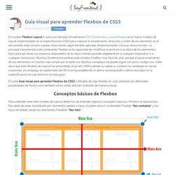 Guía visual para aprender Flexbox de CSS3