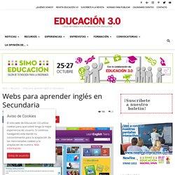 25 webs para aprender inglés en Secundaria