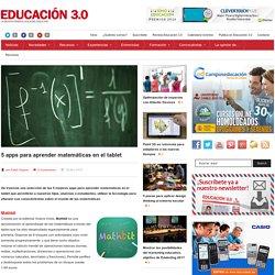 5 apps para aprender matemáticas en el tablet