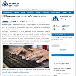Sitios para aprender mecanografía gratis por Internet