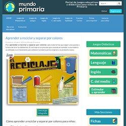 Aprender a reciclar y separar por colores - Mundoprimaria