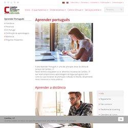 Aprender Português - Camões - Instituto da Cooperação e da Língua
