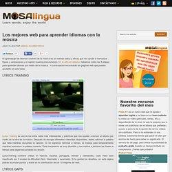 Los mejores web para aprender idiomas con la música - Apps para aprender Inglés, Francés, Portugués, Italiano, Alemán en tu móvil (iPhone Android) con MosaLingua