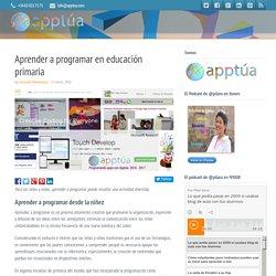 Aprender a programar en educación primaria
