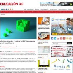 ¿Quieres aprender a modelar en 3D? 4 programas gratis para iniciarse