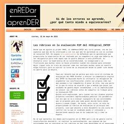 EnREDar y aprender: Las rúbricas en la evaluación P2P del #CDigital_INTEF