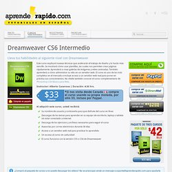 Dreamweaver CS6 Intermedio