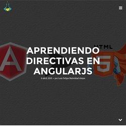 Aprendiendo Directivas en AngularJS - FrontEnd Labs