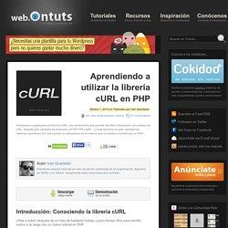Librería cURL en PHP