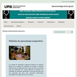 Métodos de Aprendizaje Cooperativo