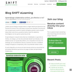 Aprendizaje colaborativo online: ¿es efectivo o no?