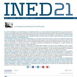 LOS PROBLEMAS DEL APRENDIZAJE POR COMPETENCIASINED21