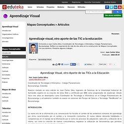 Modulo Aprendizaje Visual - MAPAS CONCEPTUALES > Artículos