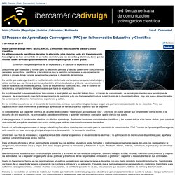El Proceso de Aprendizaje Convergente (PAC) en la Innovación Educativa y Científica