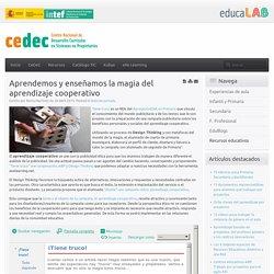 Aprendemos y enseñamos la magia del aprendizaje cooperativo