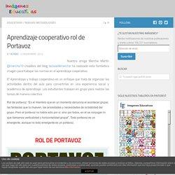 Aprendizaje cooperativo rol de Portavoz