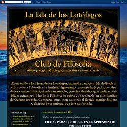La Isla de los Lotófagos - Club de Filosofía: Fichas para los roles en el aprendizaje cooperativo