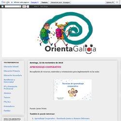 Orienta Galicia: APRENDIZAJE COOPERATIVO